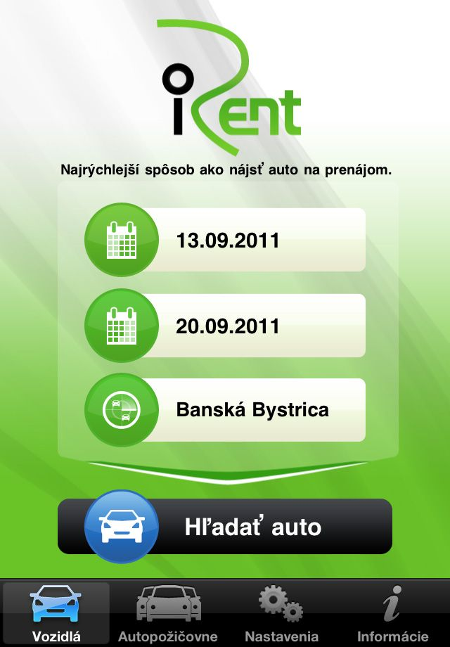 iRent app for iPhone (With images) App, Iphone