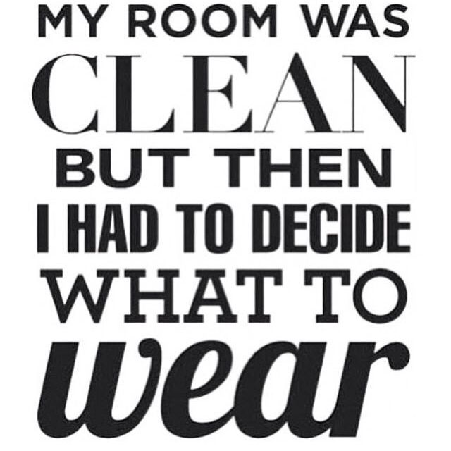 My room was clean but then i had to decide what to wear - Bedroom ideas for twenty somethings ...