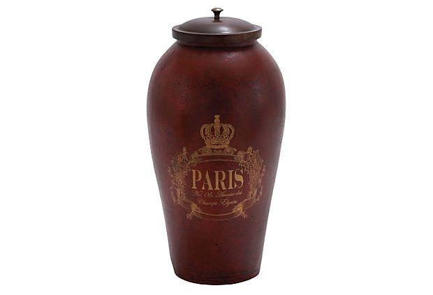 Paris Urn, Red on OneKingsLane.com