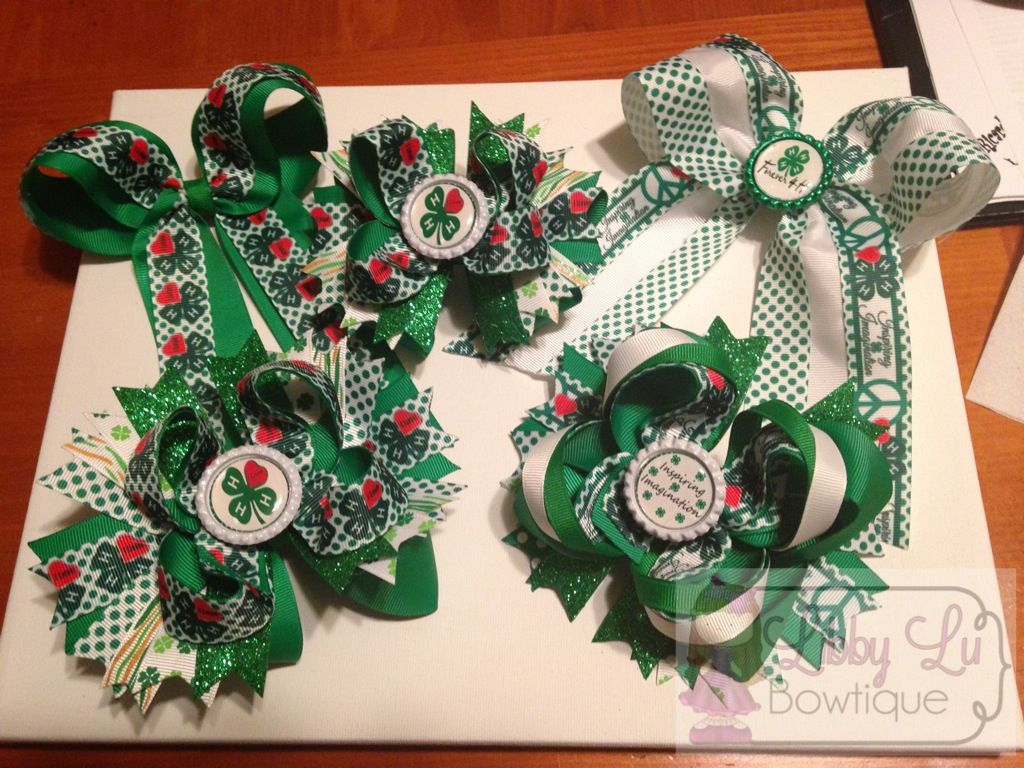 4h Bows These Would Be Cool To Put On My Rabbit Cage