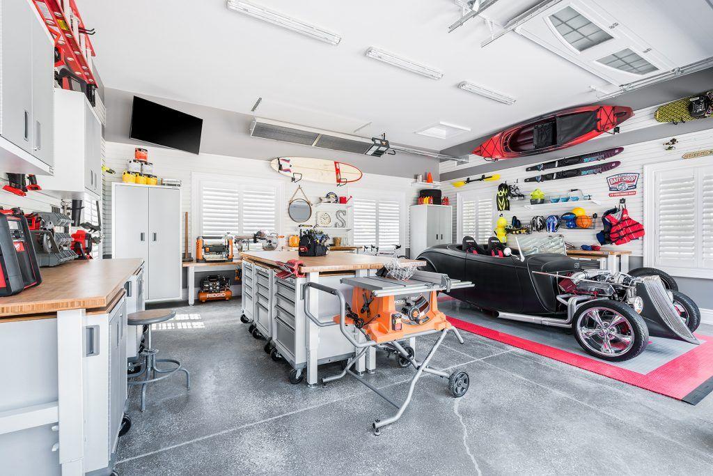 картинки гараж мастерская место для барбекю становится