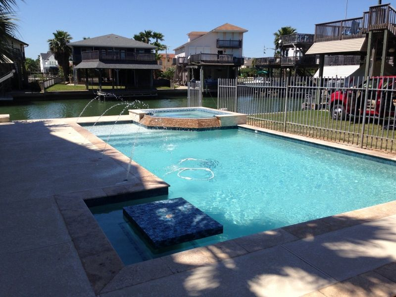 Pearland friendswood pool spa photos league city
