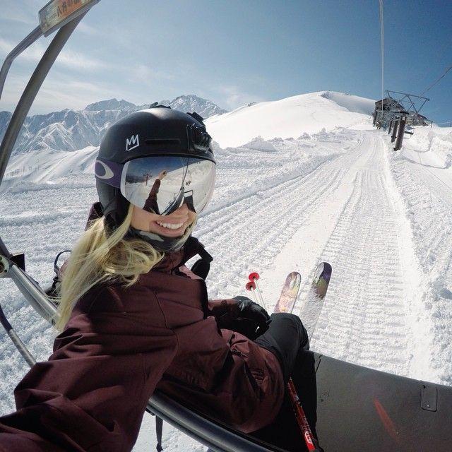 Isabella Wells on Snowboarding, Oakley and Stylish - condensation dans la maison