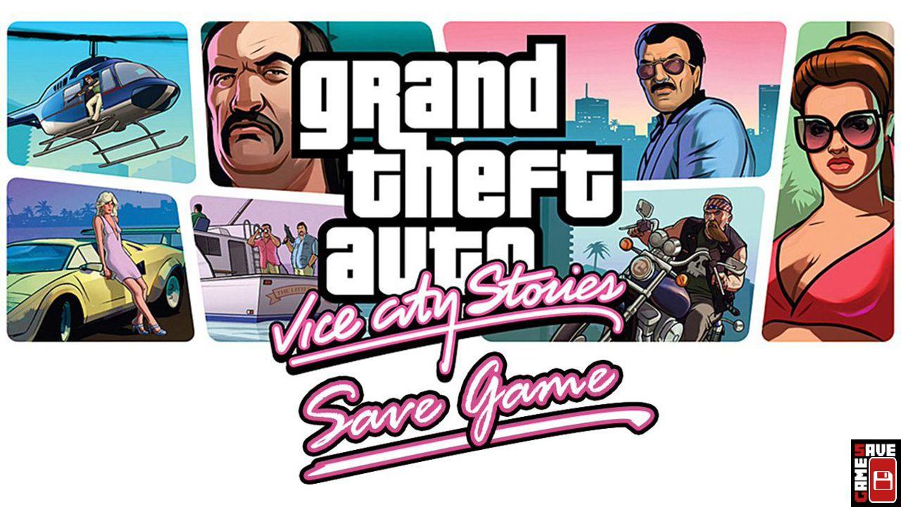 Theft Auto Vice City Stories (GTA VCS) 100 Save Game
