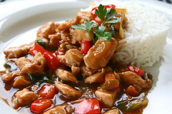 Huhn in Hoisinsauce - Tanja`s glutenfreies Kochbuch #chinesemeals