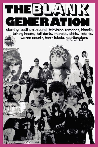 THE BLANK GENERATION 1976 movie on DVD  Official DIY 16mm B&W film