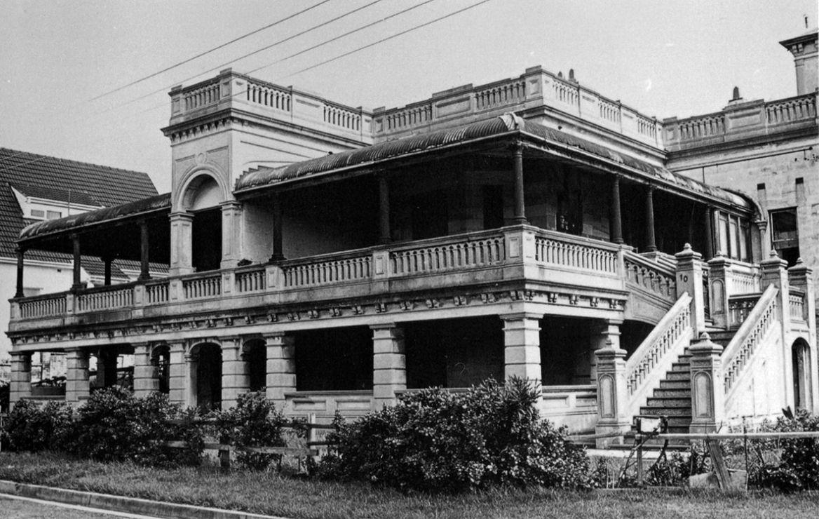 Demolished Houses of Sydney Historic homes, Mansions