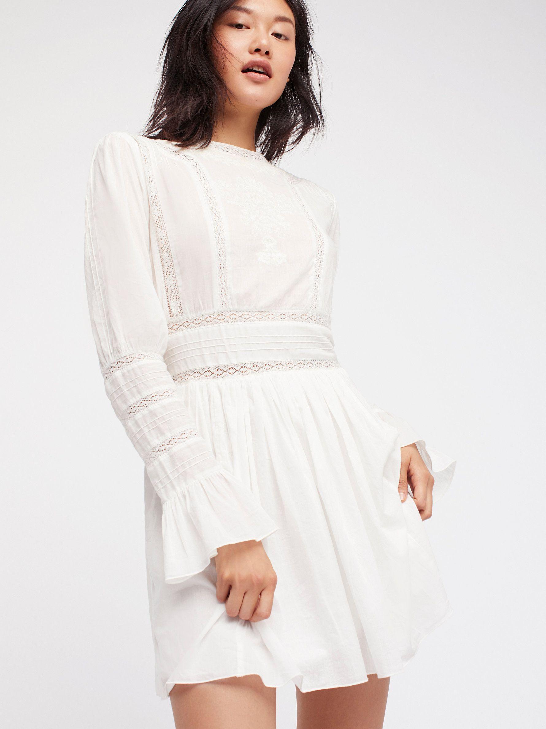 b471afd18016 Victorian Waisted Mini Dress