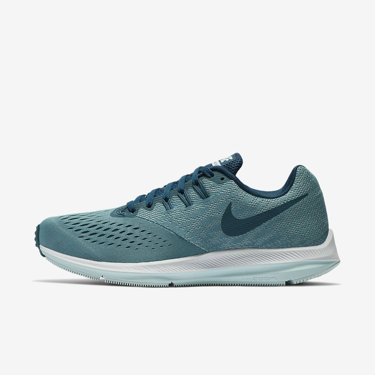 b9662028d26d5 Nike Zoom Winflo 4 Women s Running Shoe Size 12 (Blue)