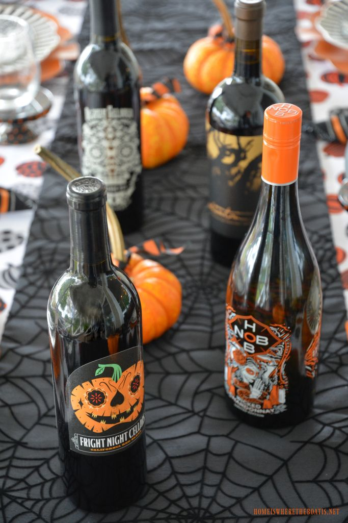 Happy HalloWine and Candy Pairing Tablescape Halloween Pinterest