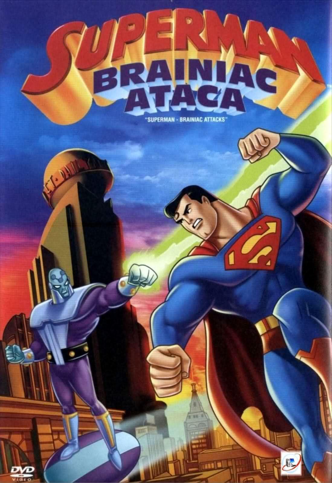 Superman Brainiac Ataca Online Em Hd No Netcine Superhomem