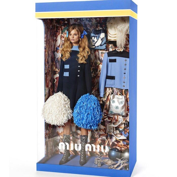 Model in the box! Miu miu Doll