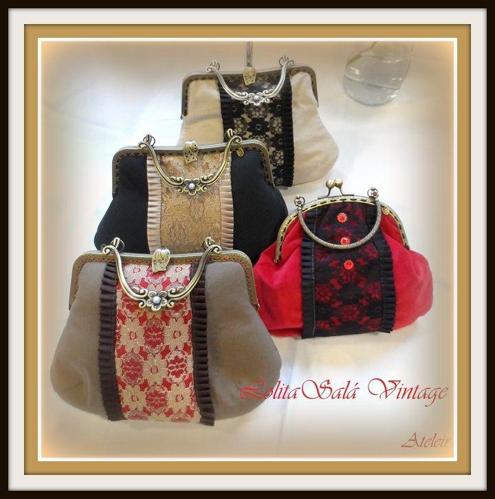 3511afe83 Bolsos de boquilla vintage hechos a mano | handbags purses | Frame ...
