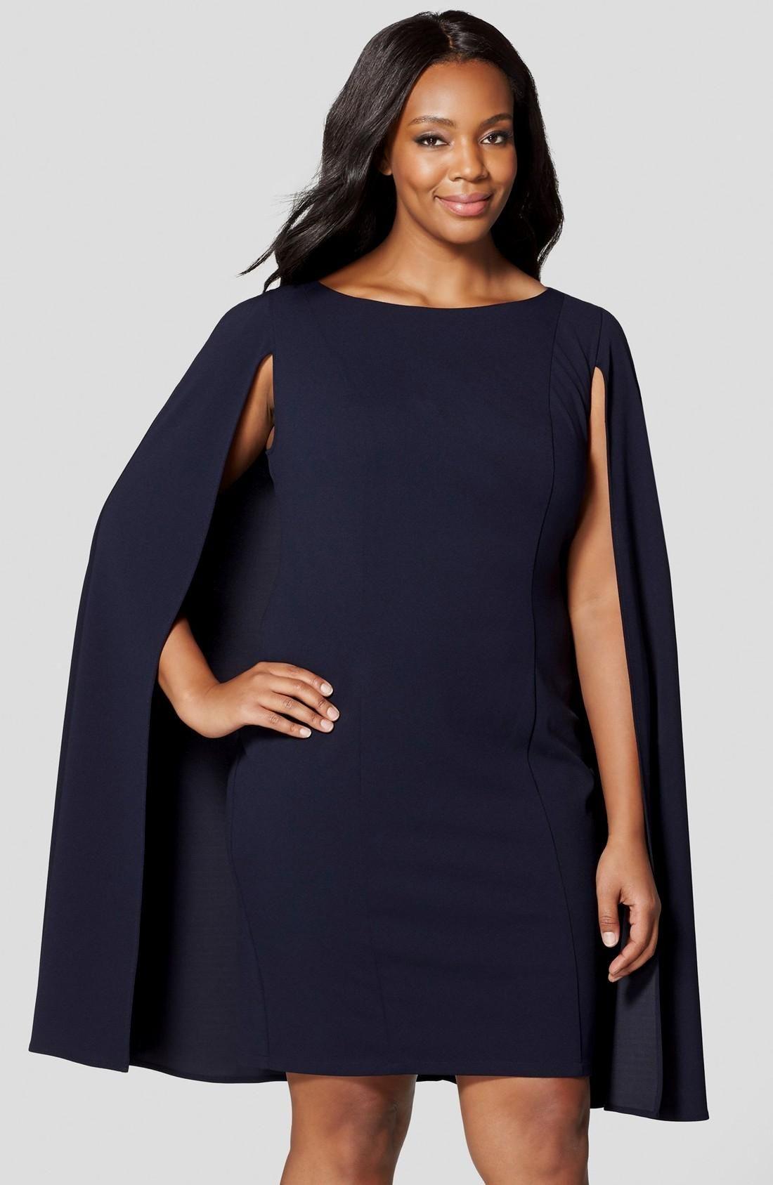 nordstrom black dresses plus size
