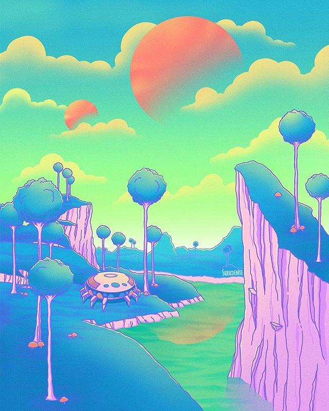Namek 💫 Prints at Dragon