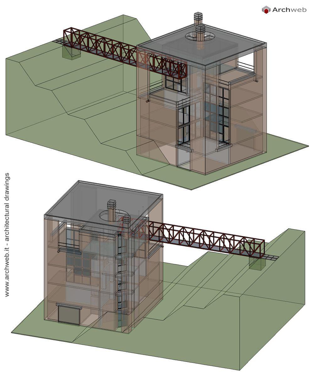 Casa a Riva San Vitale 3D model