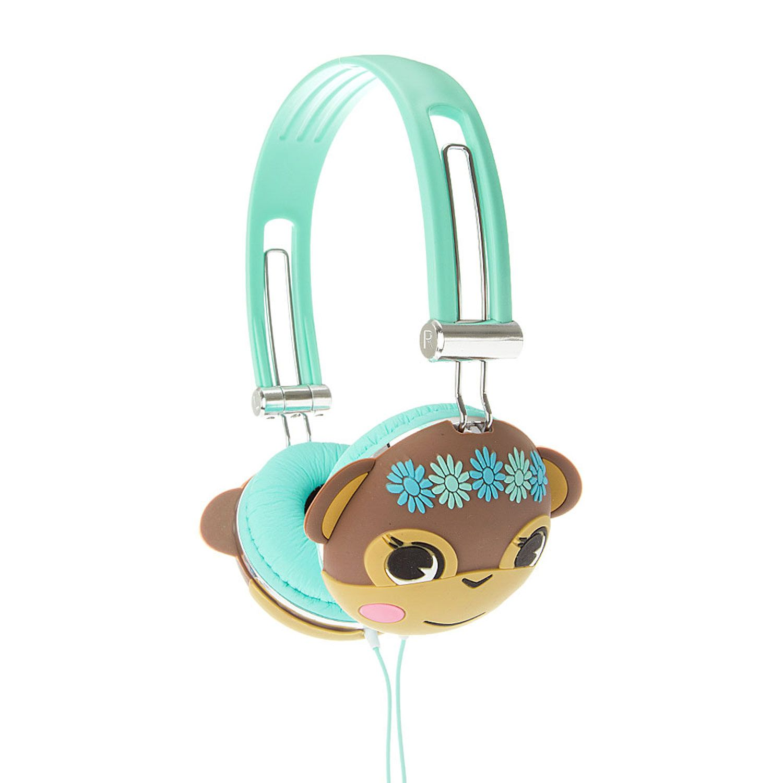 Mint Funky Monkey Headphones Claire S Accesorios Para Celular