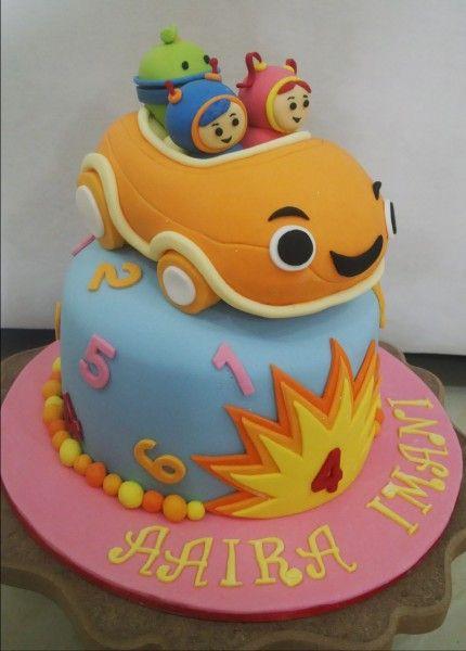 Terrific 3D Team Umizoomi Birthday Cake First Birthday Cakes Birthday Personalised Birthday Cards Arneslily Jamesorg