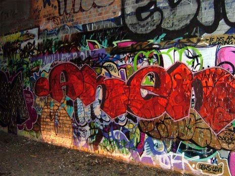 most gangs tend to use graffiti art as another way to show