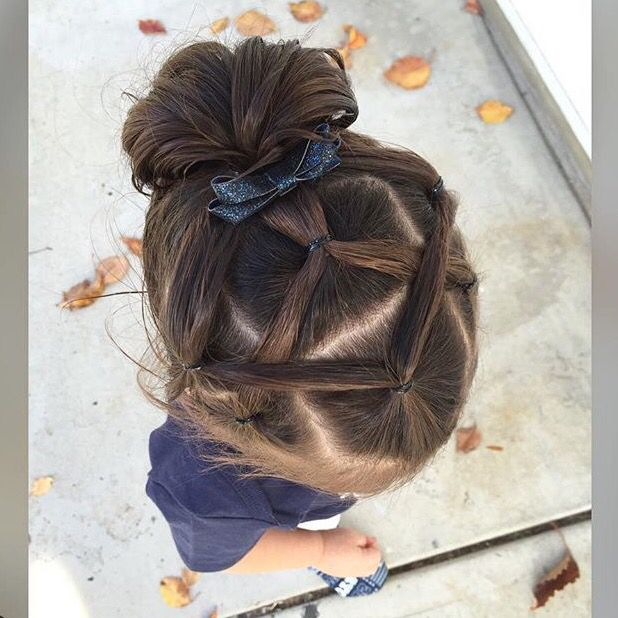 Elastic Hairstyles Hairstyles For Toddlers Pinterest
