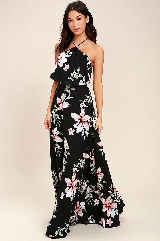 14 Celeb Inspired Wedding Guest Dresses You Can Wear All Spring Maxi Dress Lulus Maxi Dress Red Dress Maxi