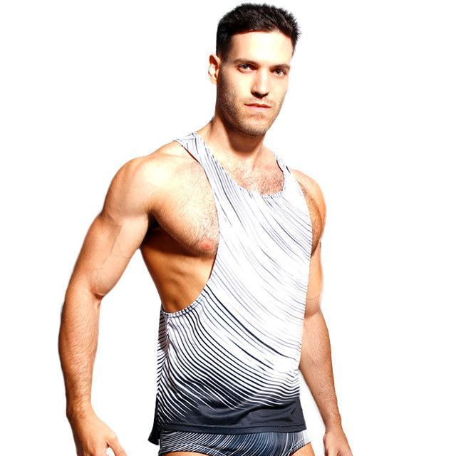 Sports Clothing Sports & Entertainment Men Military Style Men Vest Camouflage Tank Top Stretchy Wild Tight Gym Sport Skinny Bodybuilding