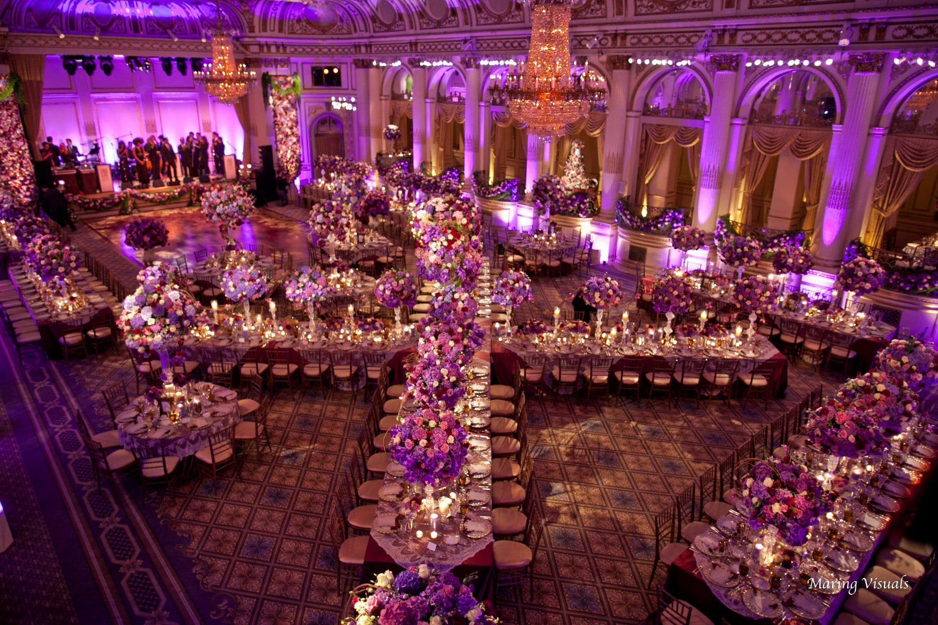 Wedding Design by David Tutera at The Plaza Hotel NyC