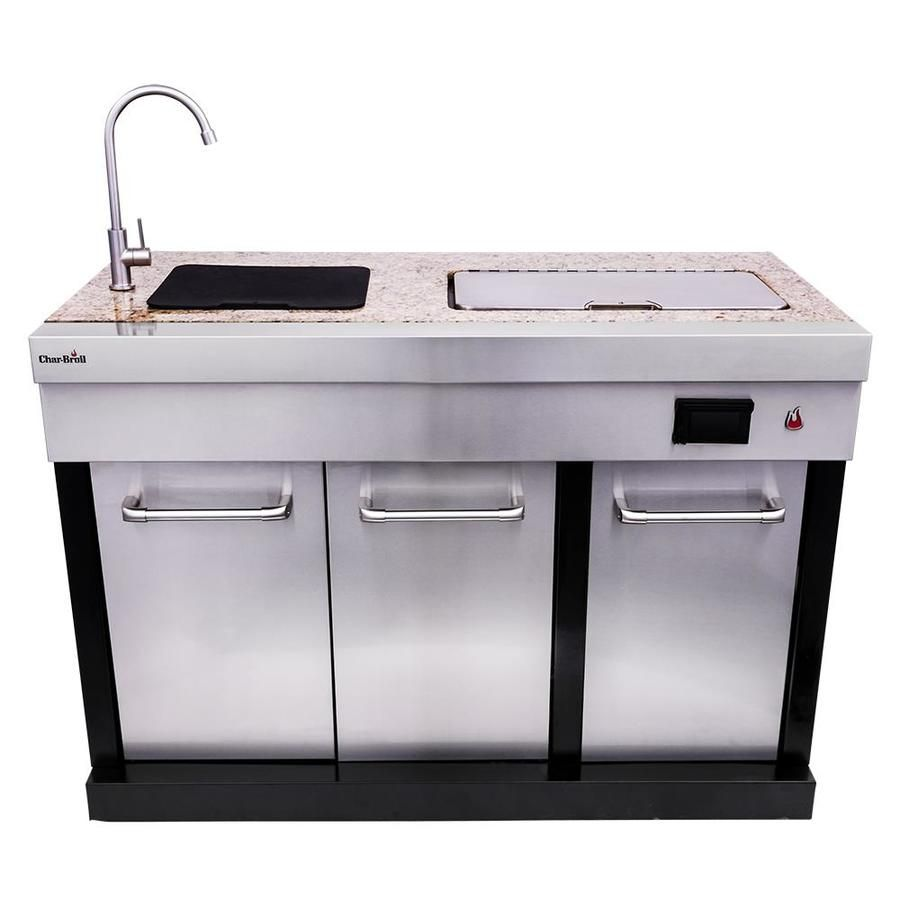 Master Forge Modular Outdoor Kitchen 3 Burner Modular Outdoor Sink