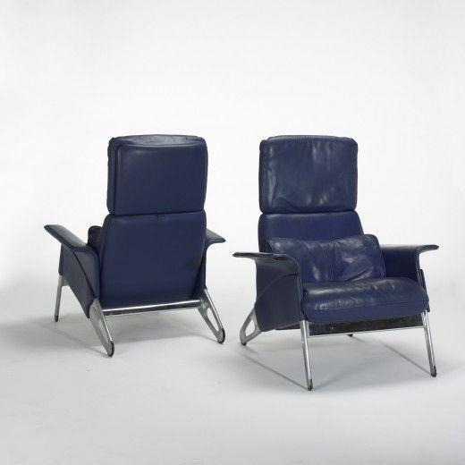 Charming Geoff Hollington, Hollington Armchairs For Herman Miller, C1992.