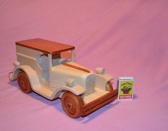This Handmade Wooden Toy Car In The Production Of The Toy
