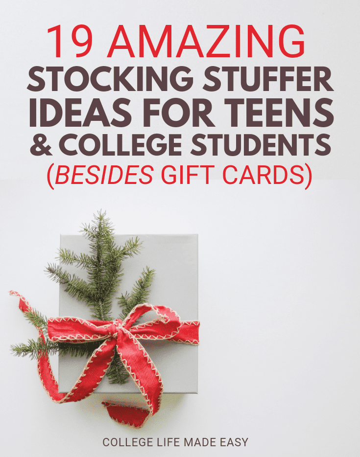 19 Amazing Stocking Stuffers for Teens & College Students (Ideas ...