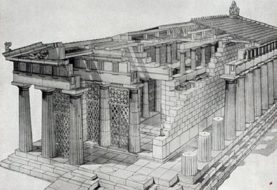 Greek Architecture Drawing ancient greek architecture illustrations - google search | thread