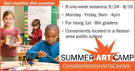 Greater Reston Arts Center in Reston, VA