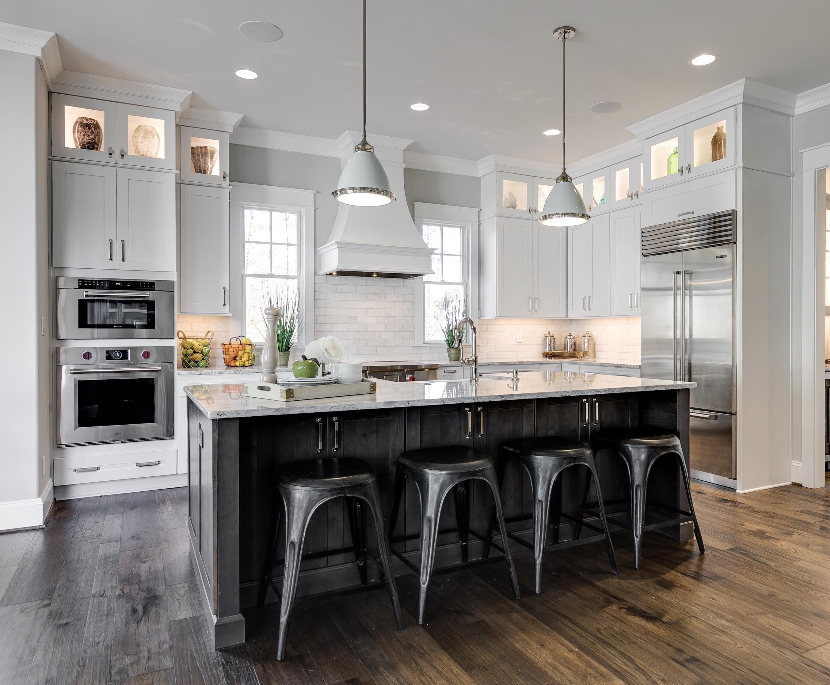A kitchen design of mine...'Southern Living' in Richmond ...