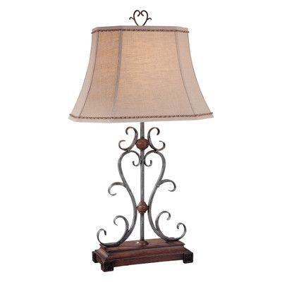 Table lamps wayfair home decor pinterest minka ambience h table lamp with bell shade mozeypictures Image collections