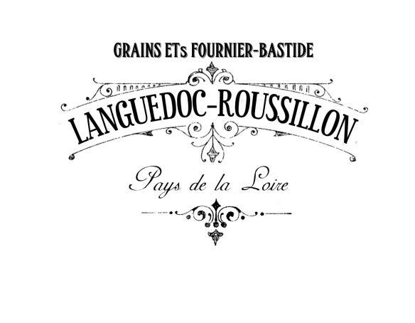 Etiqueta vintage blanco y negro francesa decoupage. Vintage publicity black & white to decoupage.