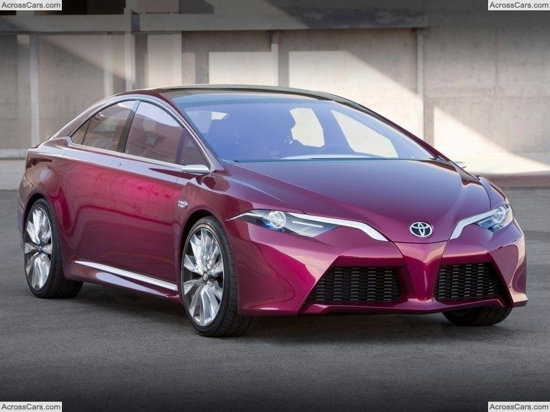 Toyota Ns4 Advanced Plug In Hybrid Concept 2012 Toyota Prius