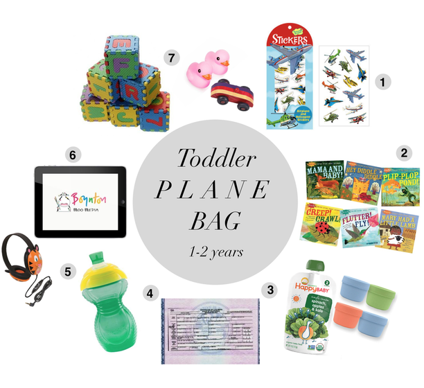 Minimalist But Prepared Packing With A Toddler Plane
