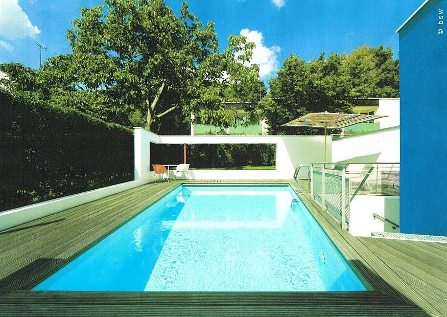 bildergebnis für moderner garten mit pool | garden&pool, Hause und garten