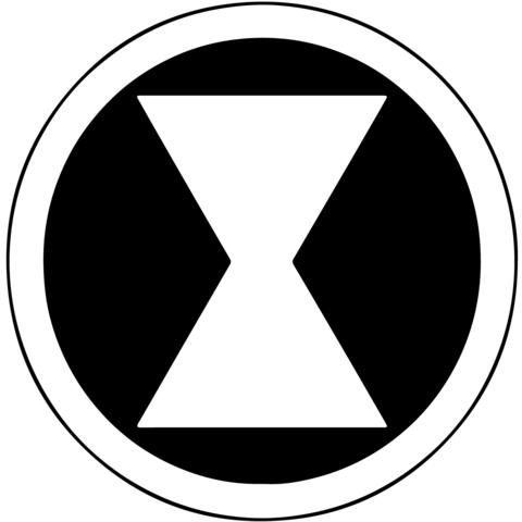 Marvel Black Widow Marvel Black Widow Symbol Avengers Symbols