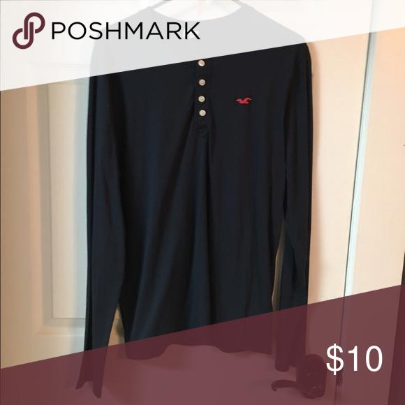 Men's Large Long Sleeve Shirt Men's long sleeve shirt size large Hollister Shirts Tees - Long Sleeve