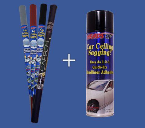 Headliner Repair Kit With Adhesive Auto Pinterest