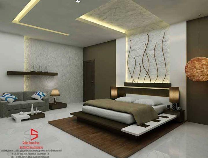 Chambre A Coucher Bedroom False Ceiling Design Bedroom Bed