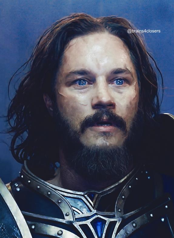 Travisfimmel Anduin Lothar Anduinlothar Warcraft Warcraft Movie Travis Fimmel Viking Metal