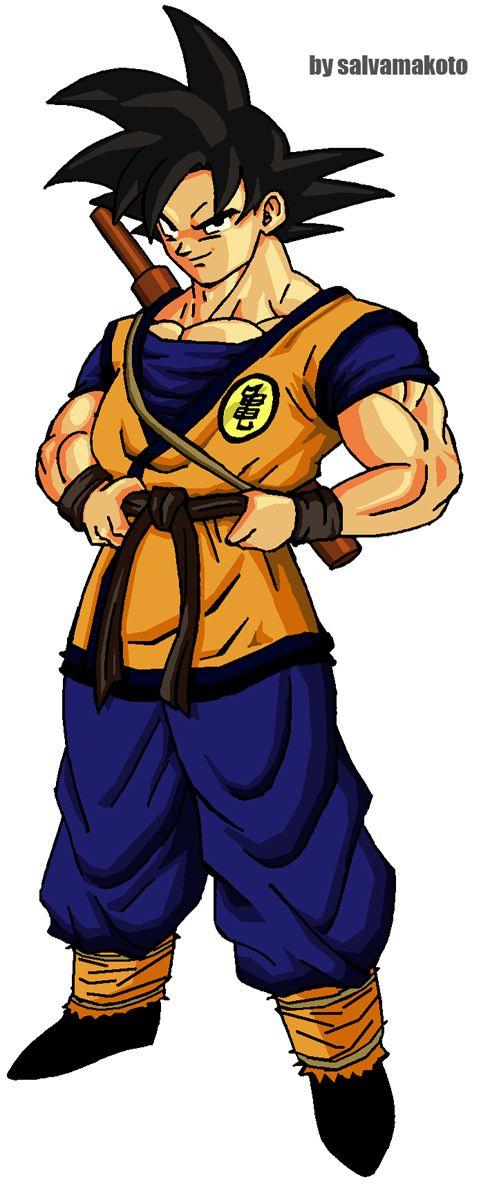 Goku Traje Live Action By Salvamakoto On Deviantart Dragon Ball Dbz Art Goku Evolution