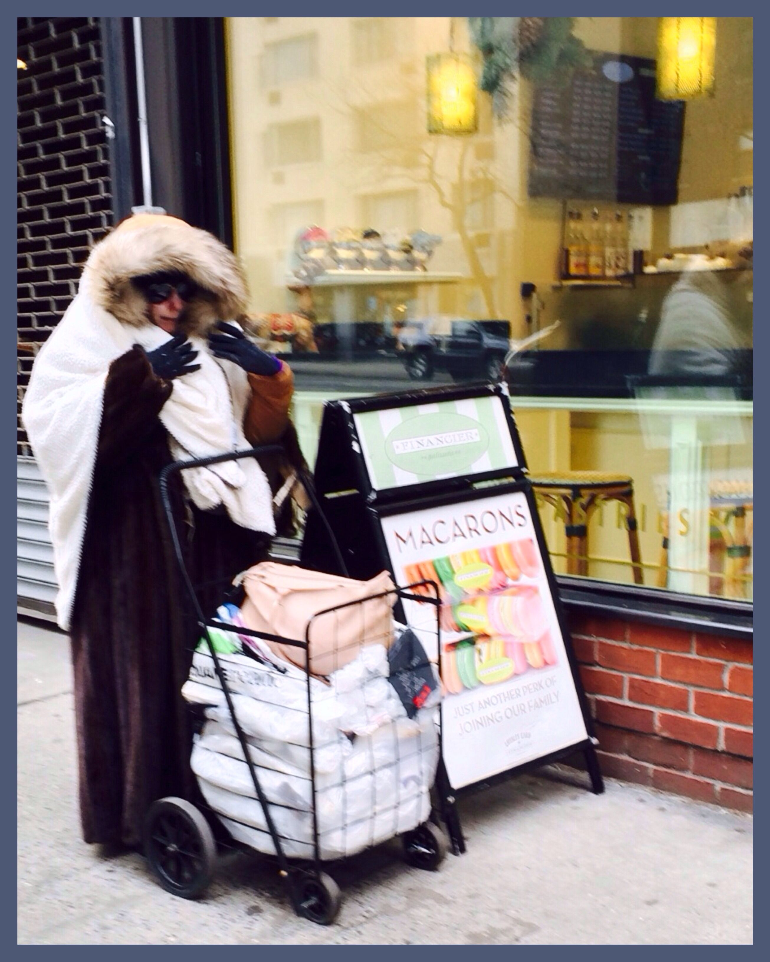 Homeless Woman Receives Fur Coats From PETA Sutton Place NYC - Nyc map the homeless