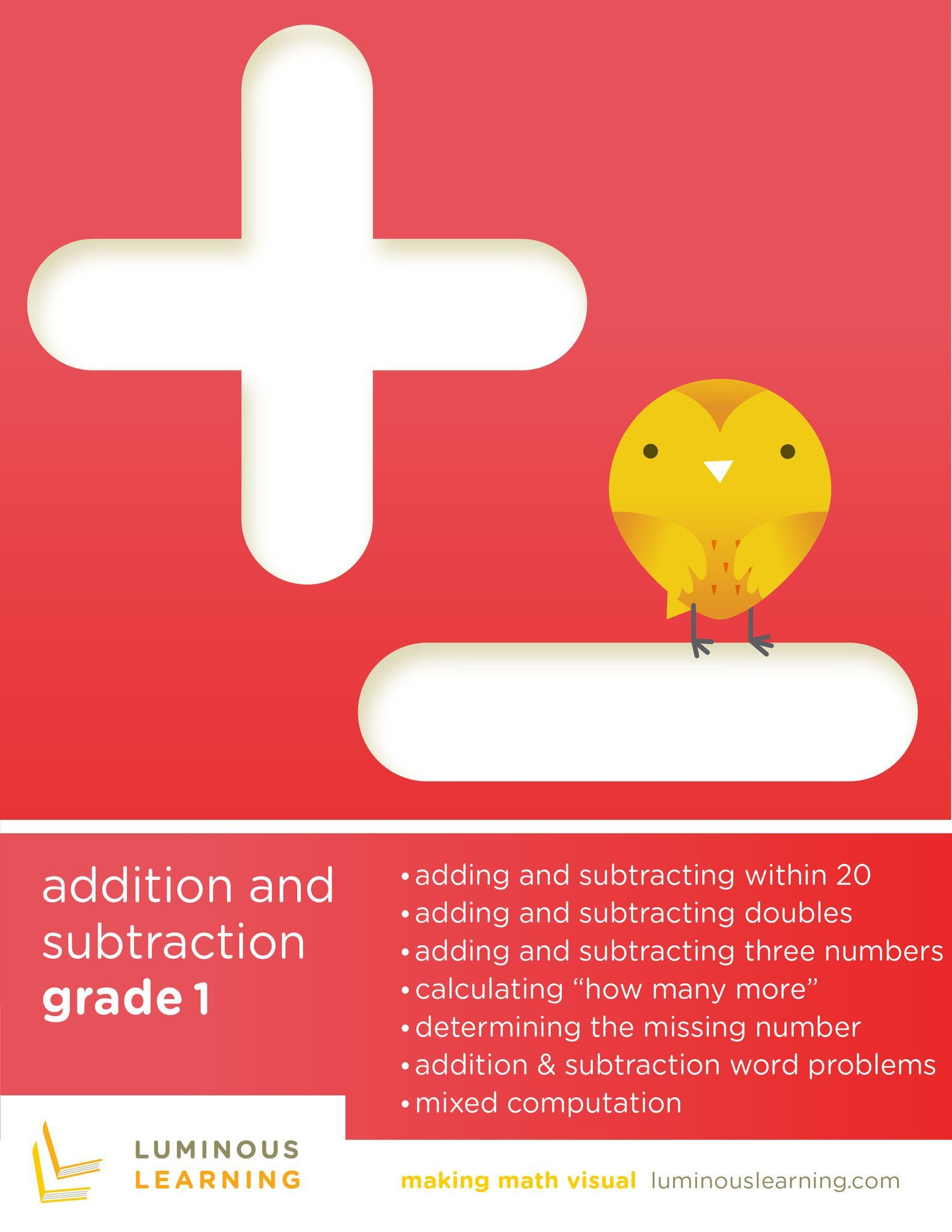 Grade 1 Addition and Subtraction e-Workbook: Making Math Visual ...