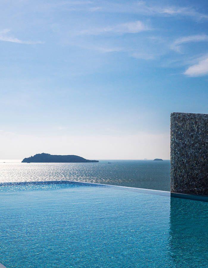 Hotel Point Yamu A Phuket Plongeon Dans La Couleur Piscines
