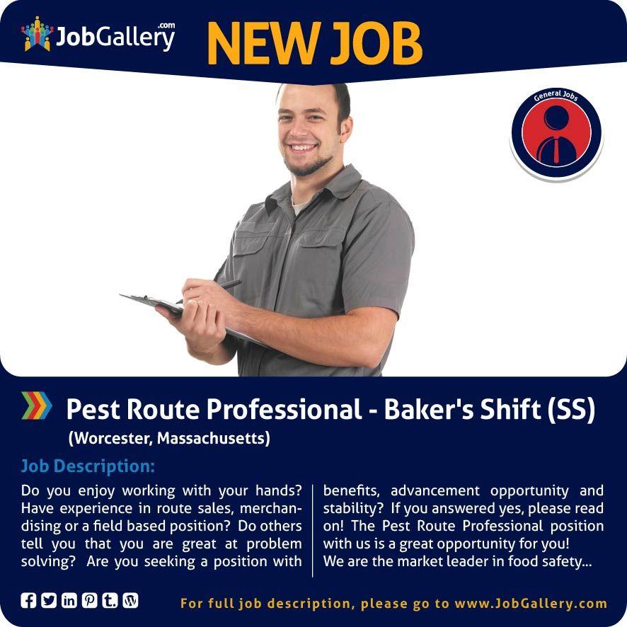 SEEKING A PEST ROUTE PROFESSIONAL - OMAHA, NE #jobs #jobopening