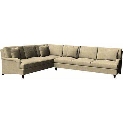 Baker Furniture Bi Sectional 6601 Upholstery